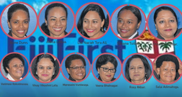 11 Women Boost FijiFirst