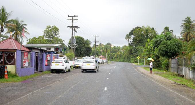 Kanace Road where the accident took place. Photo: Ronald Kumar