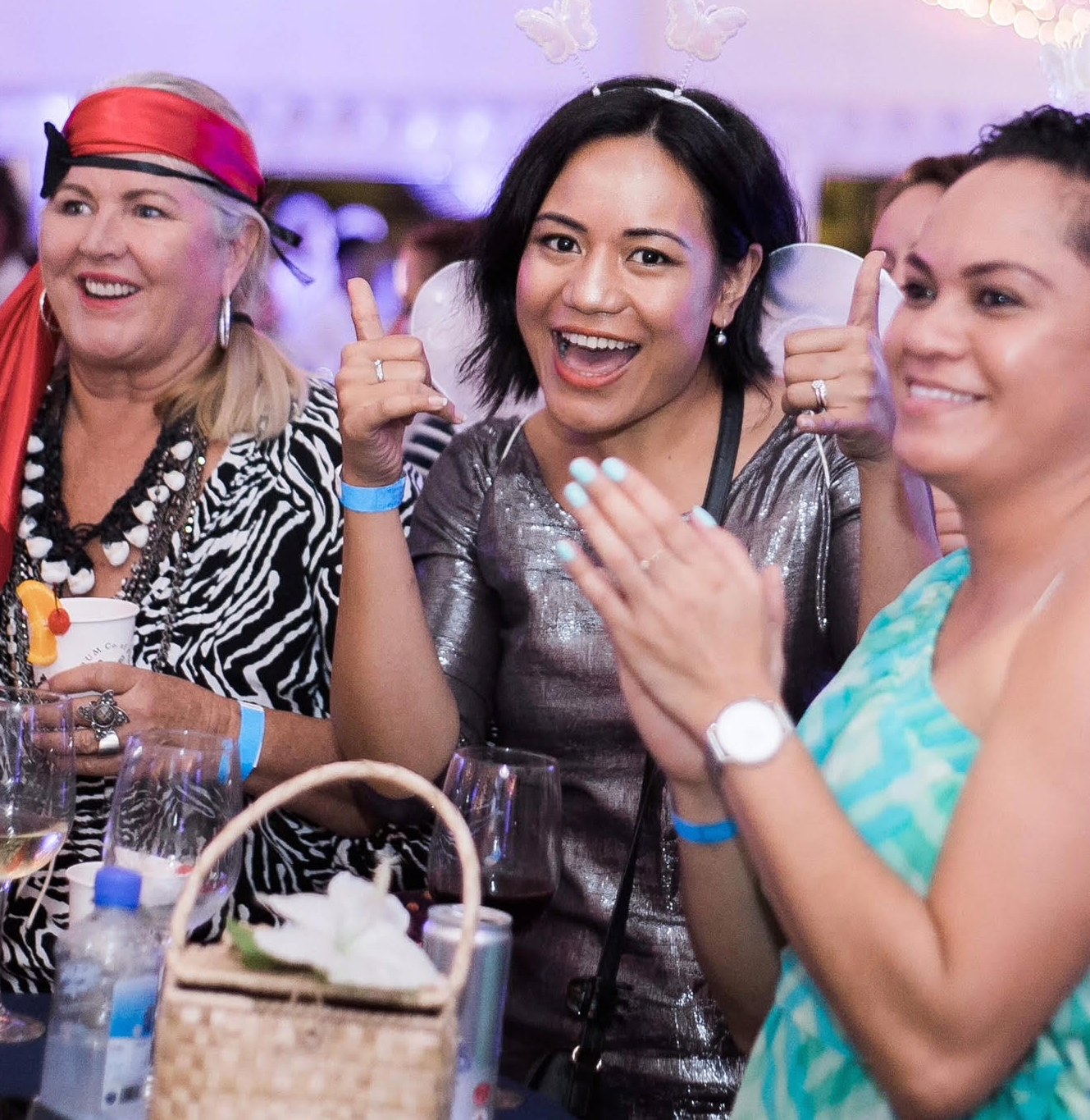 Participants enjoy themselves during the Animals Fiji 'Neverland' themed charity event in Votualevu on September 22, 2018.  Photos: Lia and Stu Photography