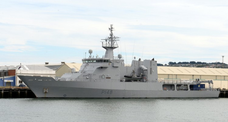 HMNZS Otago Takes Over From Where Taupo Left
