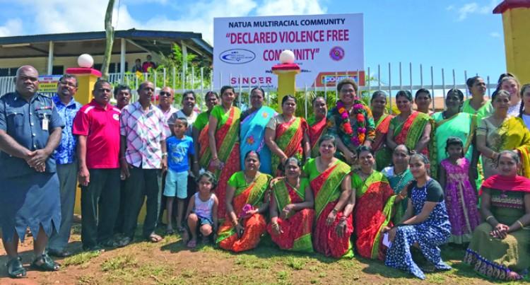Members Make Pledge To Govt's Violence Free Initiative
