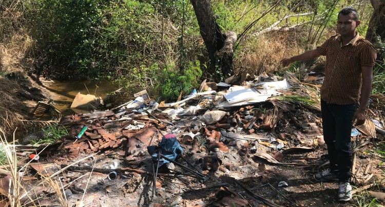 Illegal Dumping Of Rubbish Shocks  Waterways  Minister