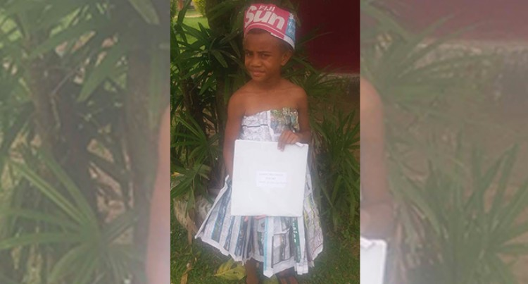 Little 'Miss Fiji Sun' Scoops Character Parade Award