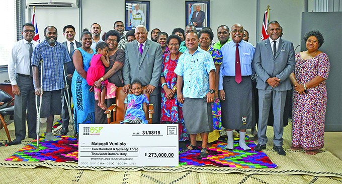 PM Hands Over $273K To Landowners For Airport Land