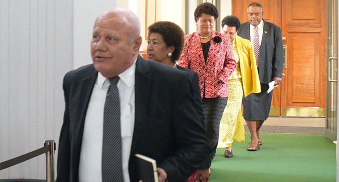 ANAYLSIS – SODELPA Walkout:  Unity And Realism Needed As The  Election Looms