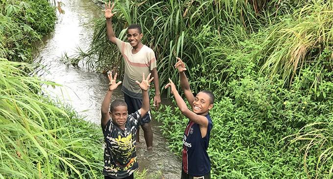 Rain Bring Joy to Lautoka Residents