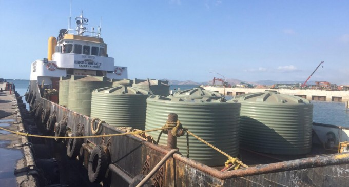 Govt Carts Water to Yasawa Islands