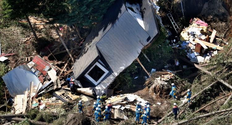Japanese Fijians Reel From Quake, Typhoon