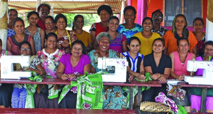 Ministry Organises  Sewing Training For Vunika Women