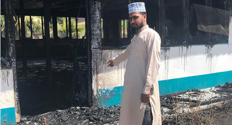 Police And NFA Probe Mosque Fire