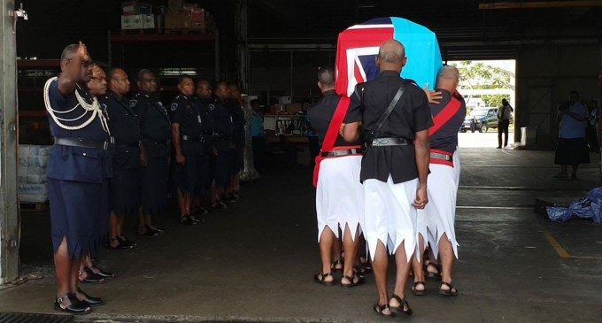 Late Deputy Commissioner's Body Arrives