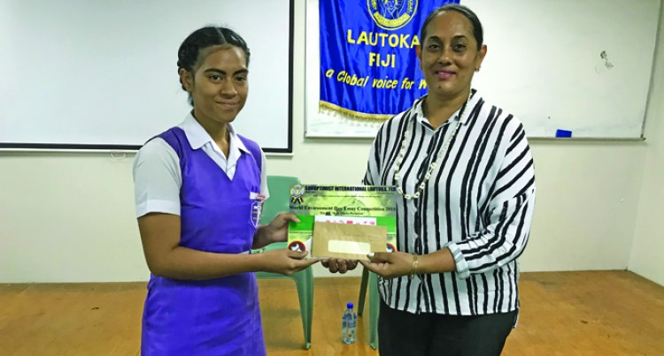 Use Your Initiative, Pick Rubbish, Says Essay Winner