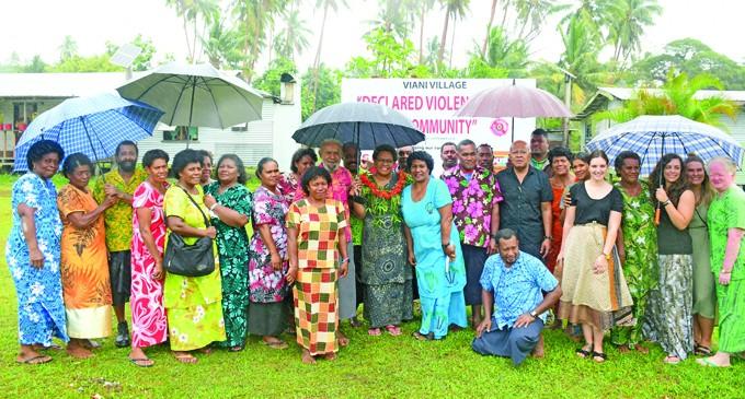 Viani Declared Violence Free Community