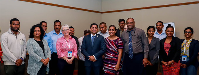 FijiFirst, SODELPA, Fiji Labour Party, Unity Fiji and Freedom Alliance were represented by three representatives each while Hope had two representative and National  Federation Party had one representative at the half day workshop. Photo: FEO