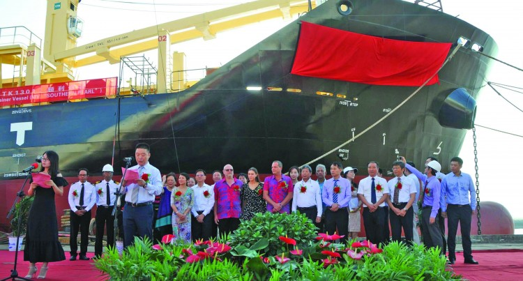 New Southern Pearl in Operation, to be Officially Launched Later