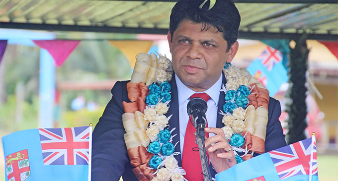 Attorney-General and Minister for Education Aiyaz Sayed-Khaiyum.   Photo: DEPTFO News