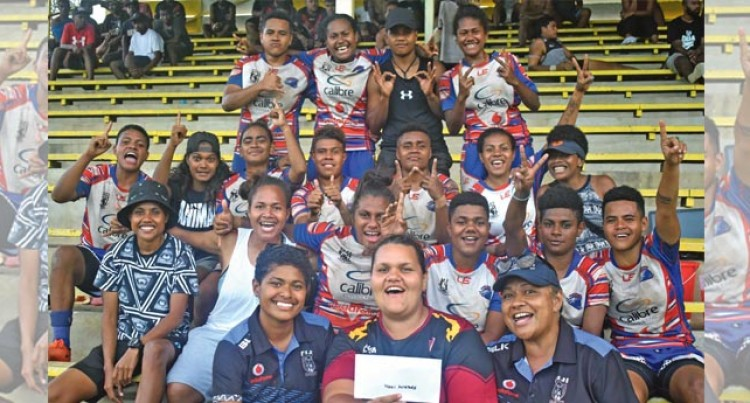 Nadi Aviators Win Women's Nines