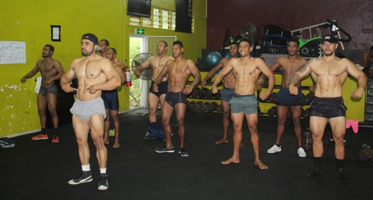 Bodybuilders Prepare For 'Show Day'