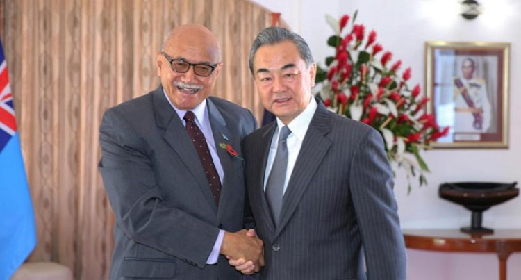 Chinese Foreign Minister Vow To Step Up Practical Cooperation With Fiji