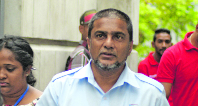 Fiji Revenue and Customs Service Director Intelligence Compliance and Investigations Shameen Khan outside Court on October 25, 2018. Photo: Ronald Kumar.