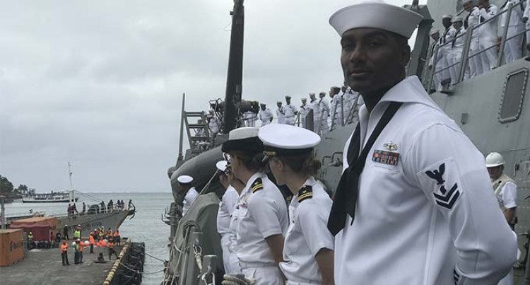 US navy personnels looks forward to Fijian experience