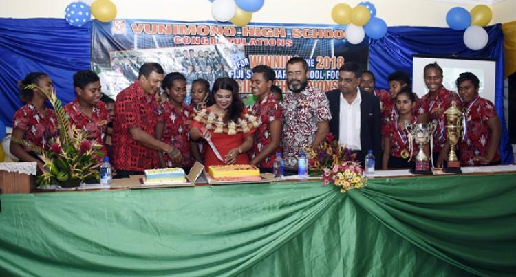 Girls IDC Champs Honoured