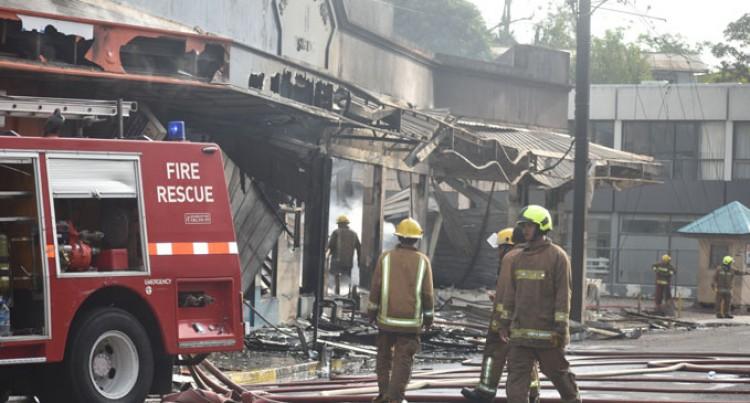 Three Fire Crews Out Blaze At Sigatoka Town