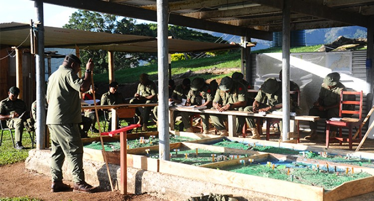 RFMF Briefing ahead of  exercise in Labasa
