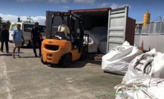Off-cut, Shredded Ballot Papers To Be Locked In Container And Stored At FEO Warehouse