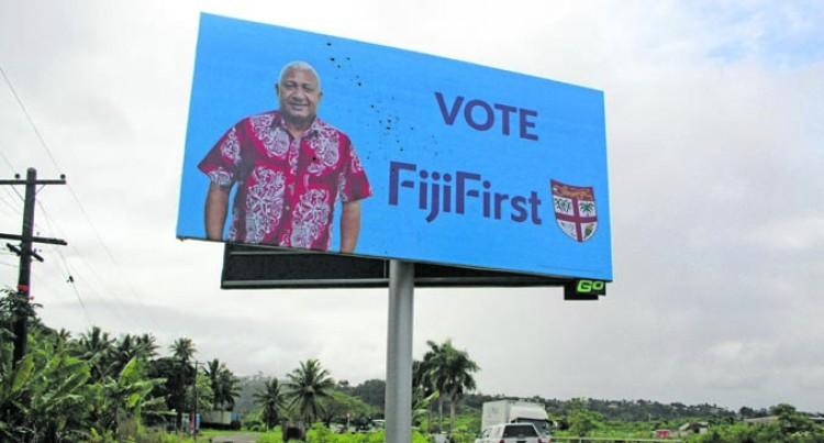 Parties Condemn Billboard Vandalism