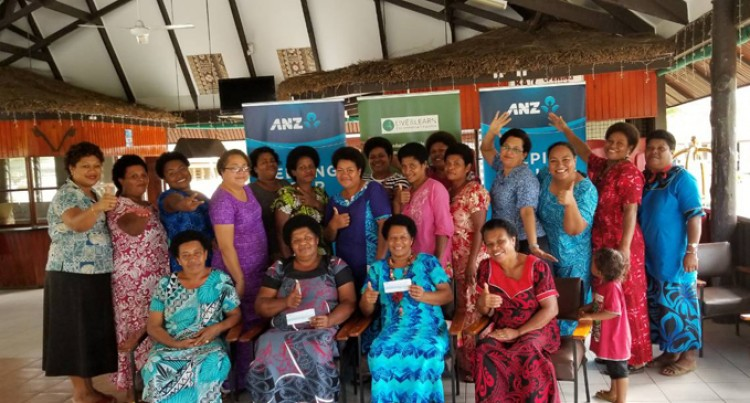 Live & Learn Fiji Disburses ANZ Donation To Women's Groups In Macuata