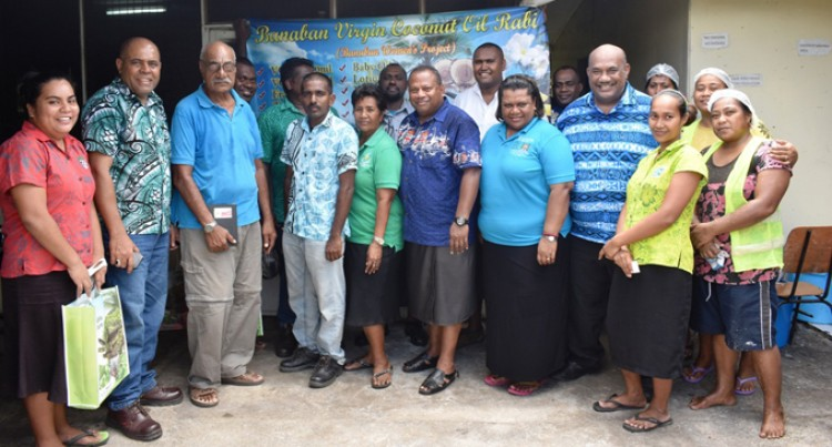 Minister Seruiratu Highlights Agriculture Potential On Rabi Island