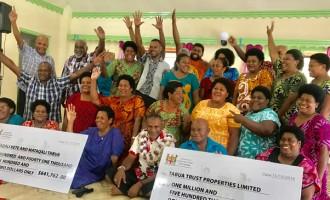 Lauwaki Village Celebrates Industrial Plans