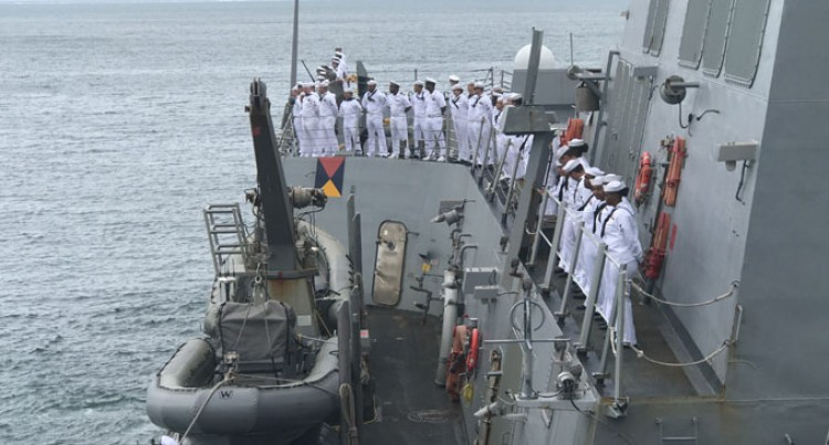US Navy Vessel Here As Part Of Oceania Maritime Security Initiative Deployment