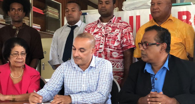 Fiji Labour Party, Freedom Alliance Sign Partnership