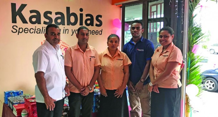 Kasabias Samabula Branch Reopens