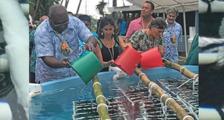 Savusavu 'Blue Economy' Pearl Hatchery Launched
