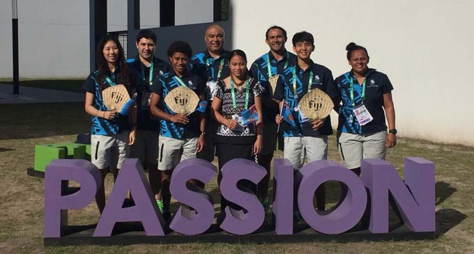 Flagbearer Wants To Do Fiji Proud