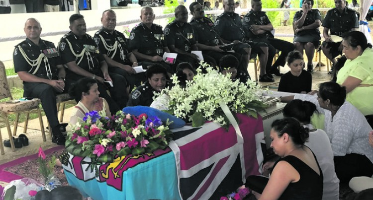 Colleagues, Friends, Families Farewell Friendly Cop