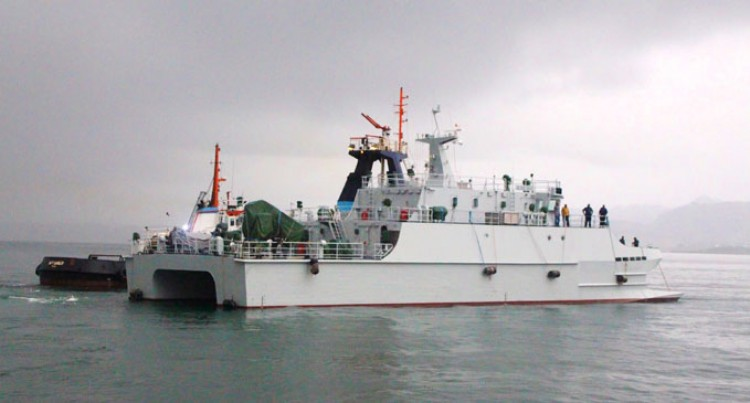 New Vessel Enhances Fijian Navy's Capabilities