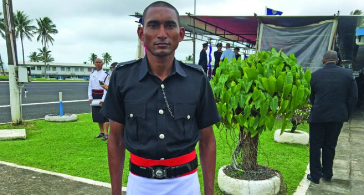 Ex-Soldier Relishes Life As A Lawman