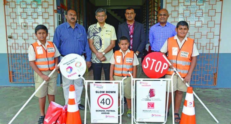 More Schools Get Road Safety Gear