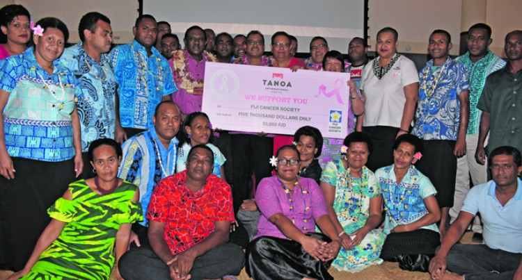 Tanoa Hotel Managers Raise The Bar For Donation