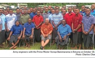 Rotuma Pledges Support For Bainimarama's Government