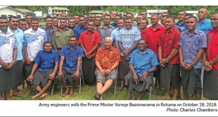 Rotuma Pledges Support For Bainimarama's Government