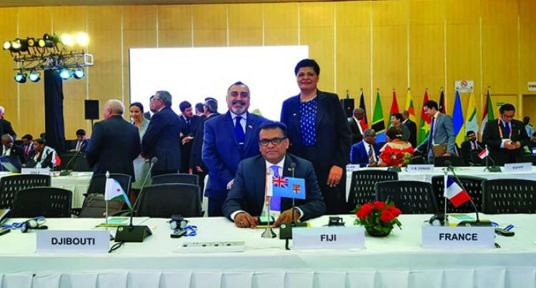 Fiji At 1st Global Solar Meeting