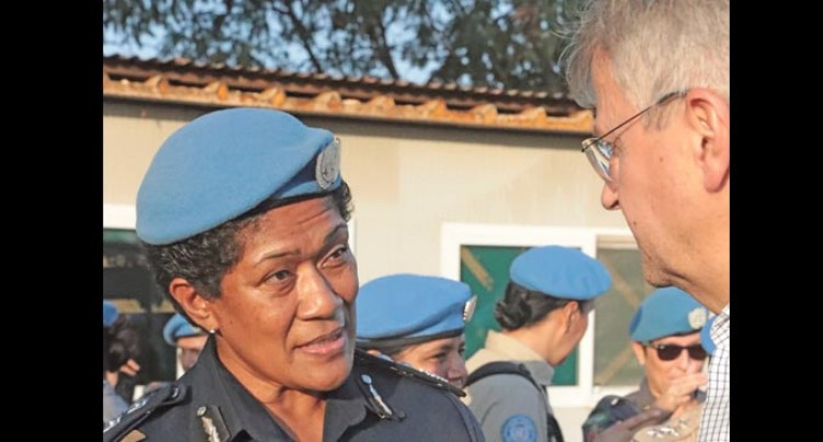 Peacekeeping Chief Meets Vuniwaqa, Women Officers