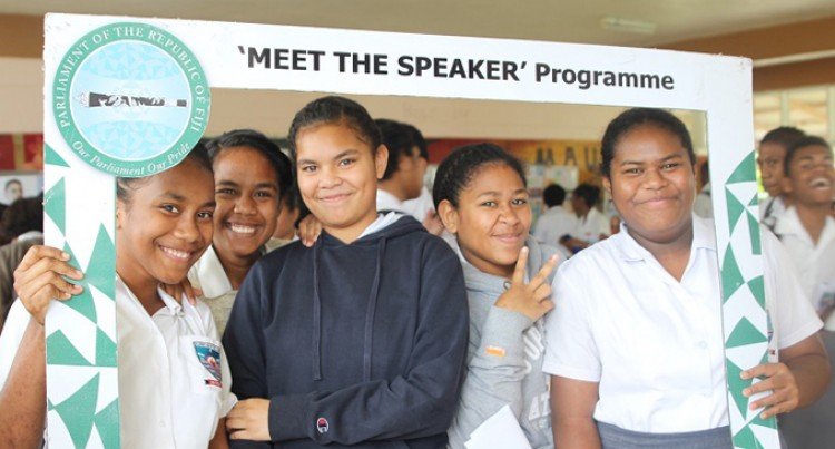 Speaker Meets Sacred Heart Students , Nabukavesi Villagers