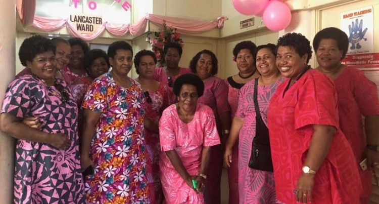 Wives & Mother's Club Donate Gift Packs To Women