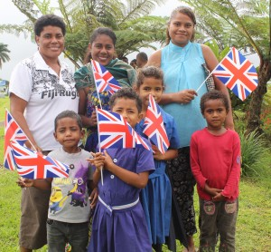Members of the public in Nausori anticipating the arrival of the Duke and Duchess of Sussex, Prince Harry and Meghan at the Nausori Airport on October 23,2018.Photo:Simione Haravanua.